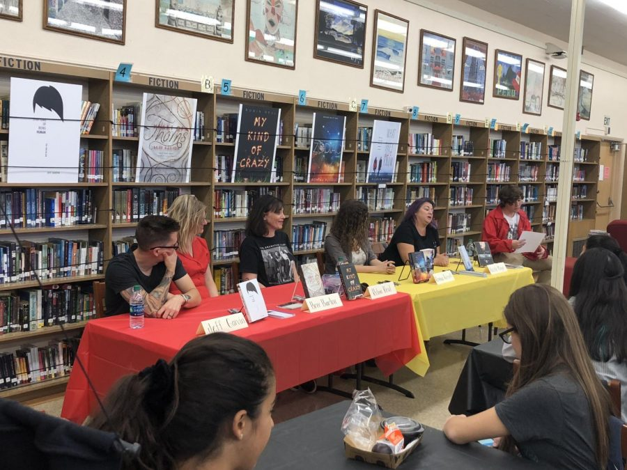 Young Adult Author Panel October 17th