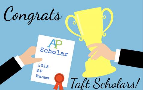 AP Scholars at Taft