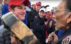 Covington High School Students in the Center of National Mall