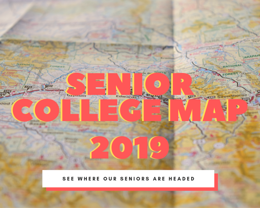 Where are the 2019 Seniors Going to College?