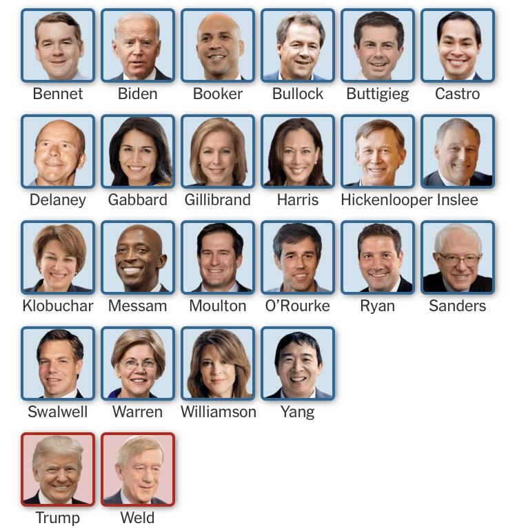2020 Presidential Candidates – Taft Tribune