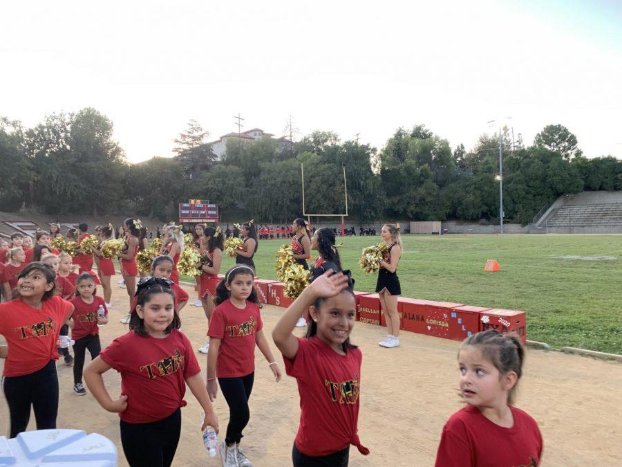 Tiny Toreadors Perform at Halftime