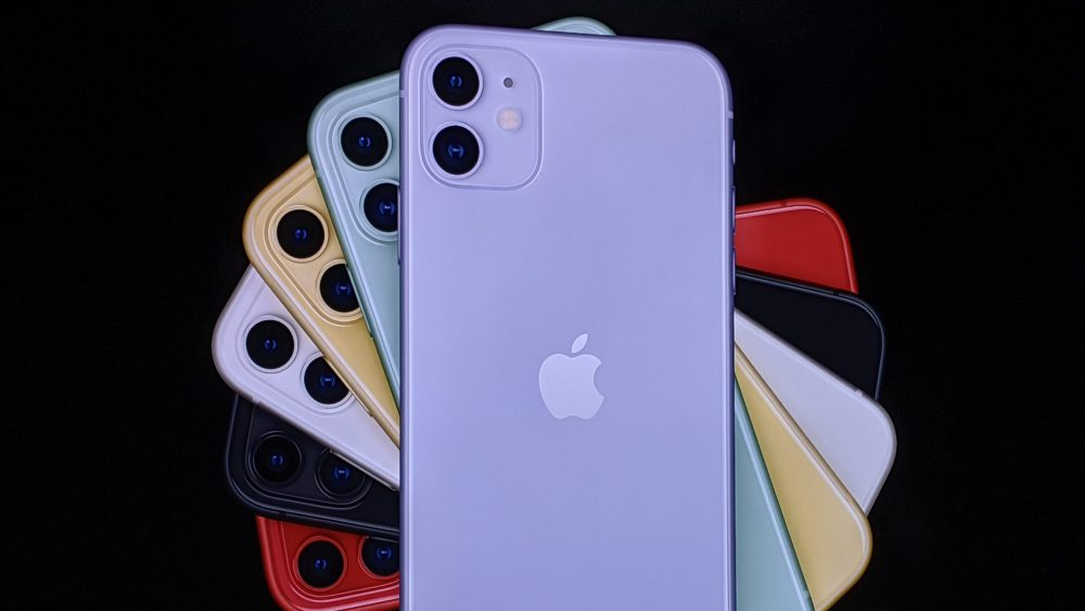 The iPhone has many different colors and is available at many different places including online.