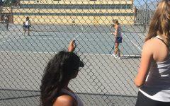 Tennis Courts Cause Anguish
