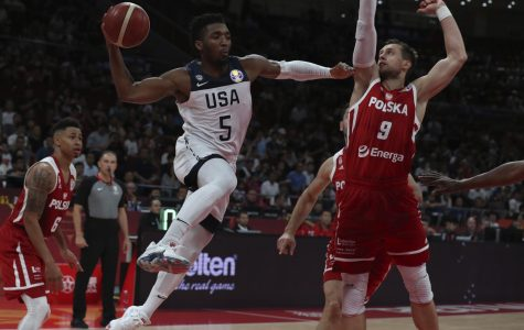 US Mens' Basketball team lost in the FIBA World Cup to seventh place