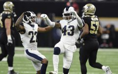 Rematch of the New Orleans Saints versus the Los Angeles Rams.