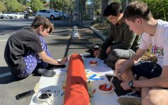Students Decorate Parking Lot in New Taft Tradition