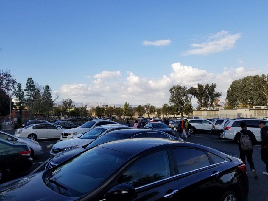 Taft%27s+student+parking+lot