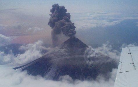 Alaska Volcano Spews High Ash Cloud