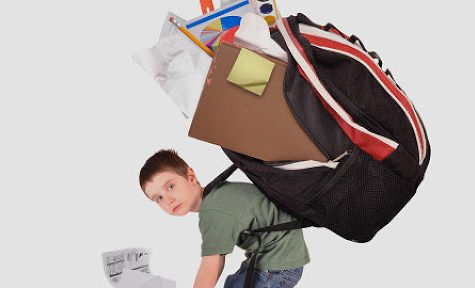How students feel their backpack must look like. cover image.