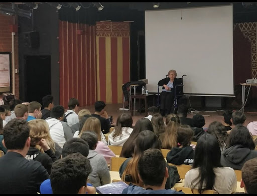 Holocaust Survivors Share Their Stories with Taft Students