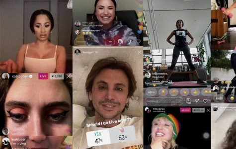 Celebrities Flock to Social Media to Entertain Isolated Fans