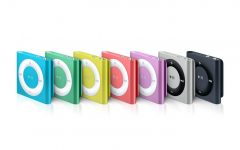 The iPod Nano and its color variations