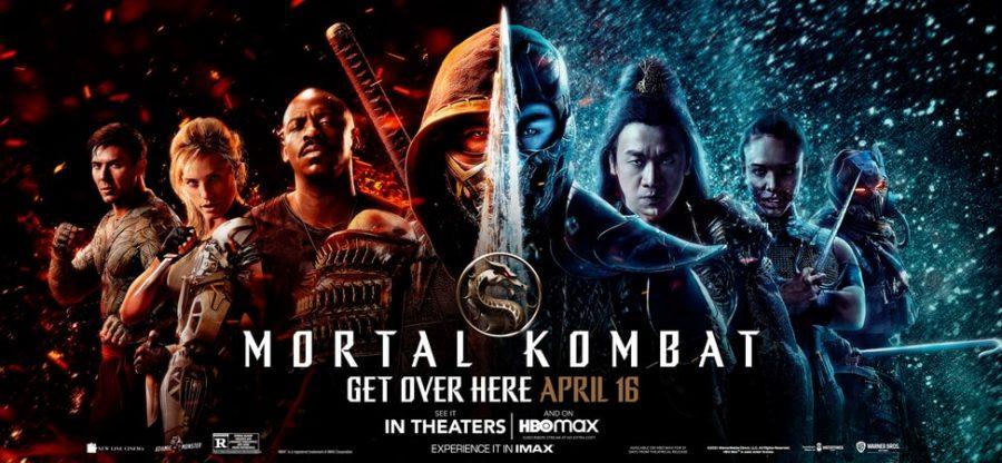 The Poster for Mortal Kombat (2021).